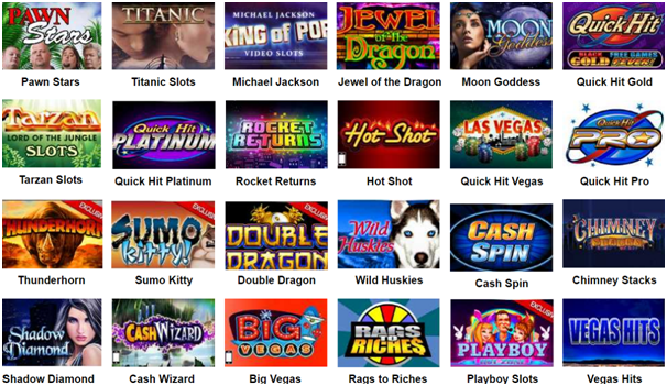 Bally pokies online games