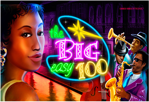 Big Easy 100 pokies machines