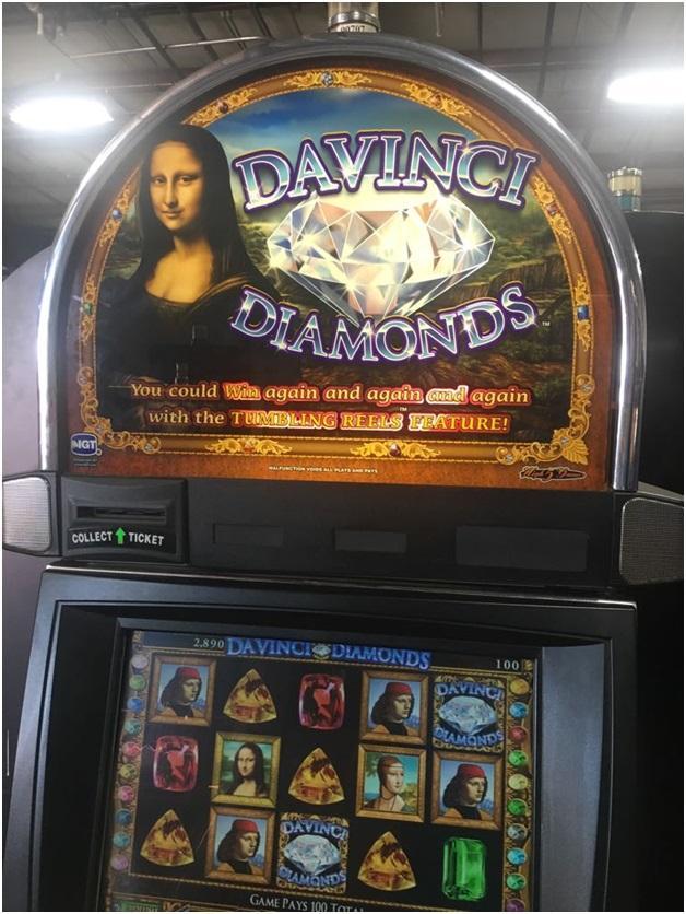 Da Vinci Diamonds Pokies -Features