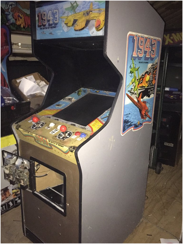 Fading of Cabinets in Pinball and service centres at Australia