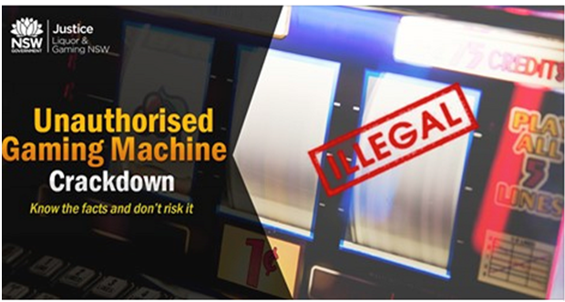 Illegal Pokies sale penalty
