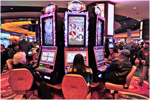 Location of pokies machine