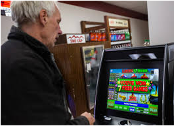 Make a video of pokies machine you wish to sell