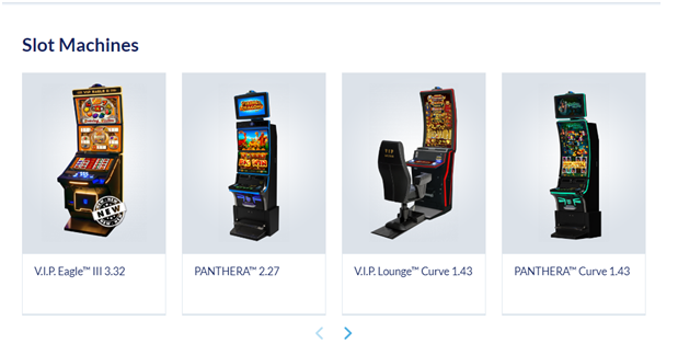 Novomatic pokies for sale in Australia