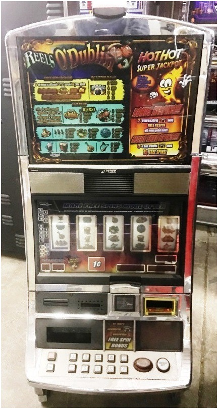 Reels O' Dublin WMS Pokies Machine For Sale