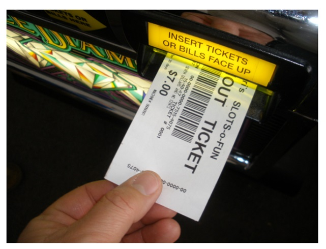 Ticket in Ticket out machines