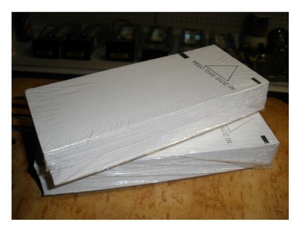 Ticket paper machines