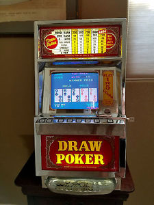 Las Vegas Video Poker Draw Poker $.25 cent Slot Machine ...